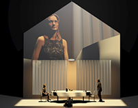 Finalist Dutch Opera Design Award at Opera Amsterdam
