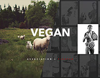 Vegan Association + Vegan Fighter - Designed for Earth