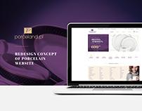 Porceland.pl - redesign website concept
