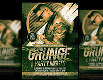 Grunge Party Nights - Flyer Design Pranaytony!