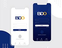 BDO Mobile App Concept