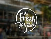 Au Fresh Start Juice Bar Logo