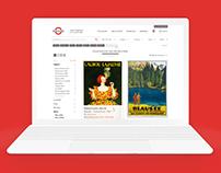 International Poster Gallery E-commerce Website