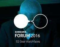 Samsung Forum 2016 - Gear S2 Watchfaces Design