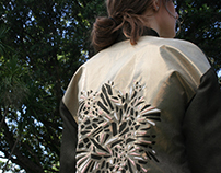 LASER-CUT EMBROIDERED JACKET
