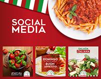 Social Media - Cantina Italiana D`Angelo