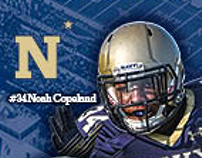 Navy Football 2014 Web Ads