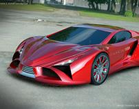Exona 2 stylish concept CAD project