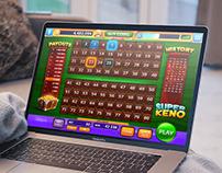 Super Keno game