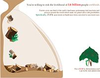 Poster: Devastation of Deforestation