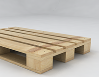 Redesign of a wooden pallet