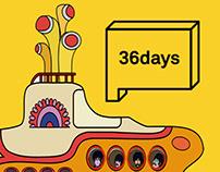 36 Days of Type Yellow Submarine