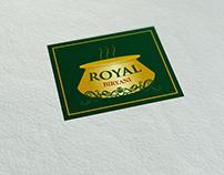 Branding - Royal Biryani