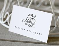 Wedding logotype