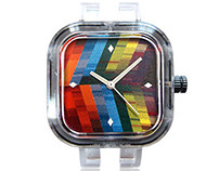 Feathered Prism Watch Face