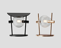 """""""Lovers"""" lamp collection"""
