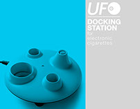 UFO- Docking Station for e-cigarettes