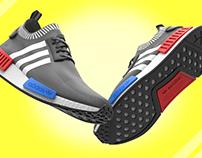 Adidas NMD R1 - 3D