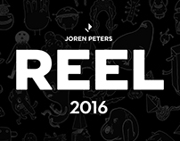 ANIMATION REEL 2016
