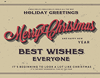 Christmas & New Year Greeting Cards