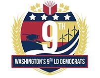 WA-9 LD Democrats Logo