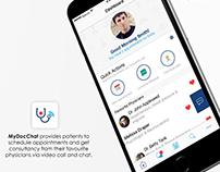 MyDocChat UI Design