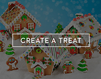 Create A Treat Website Redesign