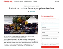 Las Ventas For Robot Arena