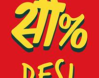 100% Desi iPhone 7 Plus Phone Covers
