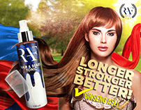 RAF Hair Tonic : Ads Project