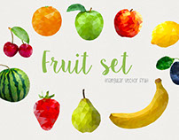 Triangular Fruit Set
