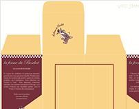 Packaging pour l'entreprise La ferme du Boschet