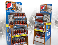 PEPSI RETRO DISPLAY