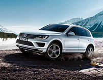 Volkswagen Touareg - Cartel Cerdanya