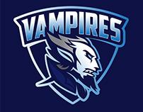 Vampires. Logo concept. For sale.