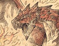 Monster Hunter Official Art Print