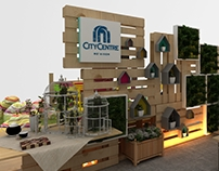 CONCEPTUAL COURTYARD BOOTH MAF UAE
