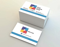 OFFICE & COWORK CENTRE - business card and leaflet