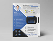 Free Clean Professional Job Resume Template