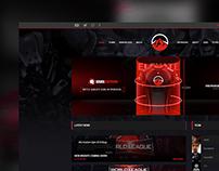 eLevate Gaming Website Design