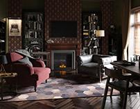 Sherlock Holmes' Room