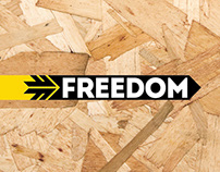 FREEDOM skate stores rebranding