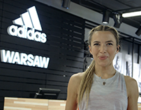 "adidas ""Ewa Chodakowska - Warsaw Store Prank"""