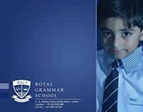 royal grammer school stationary
