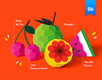Spring Festival of Pérouges - Poster design
