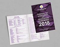 Festival of Achievement and Graduation Programme