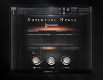Adventure Brass kontakt gui