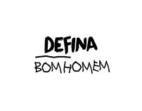 Defina - Bom Homem (Lyric Video)
