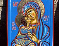Bogoroica sa Hristom
