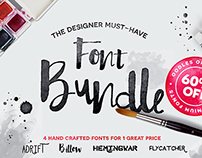 Hand Crafted Font Bundle